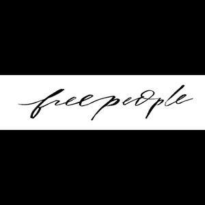 Free People Vneck Tee
